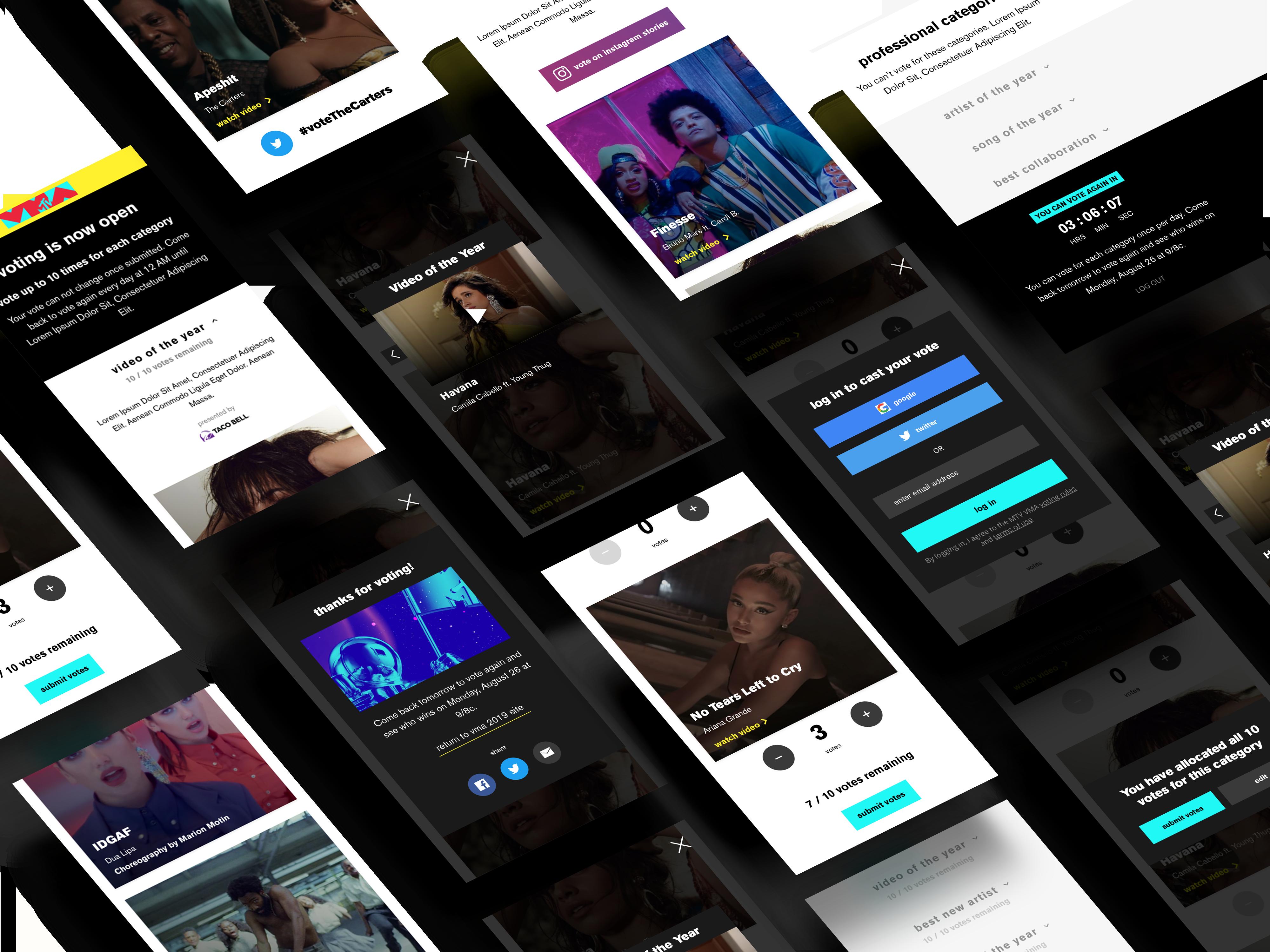 vma-mobile-screens